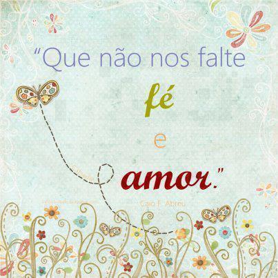 Fé e amor
