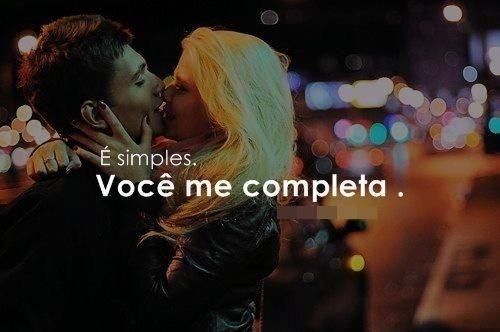 É simples
