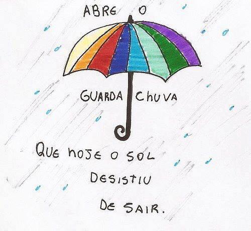 Abre o guarda-chuva