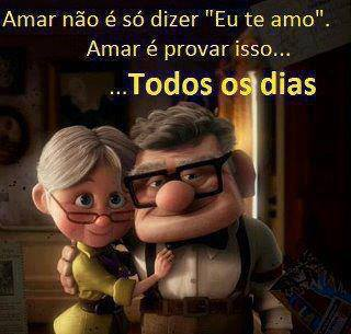 Amar não é só dizer