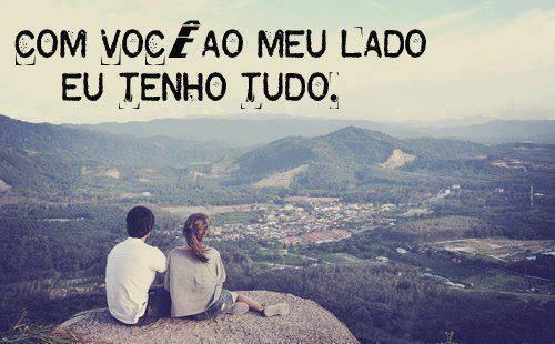 Com você ao meu lado