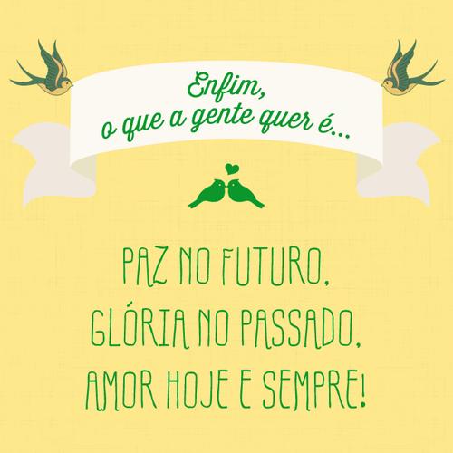 Paz no futuro
