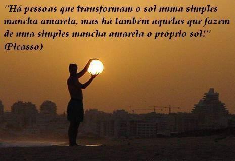 Transformam o sol