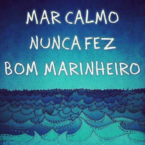 Mar calmo