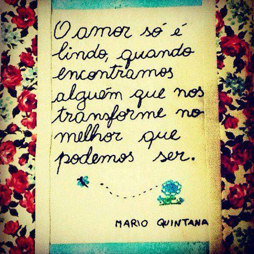 O amor só é lindo