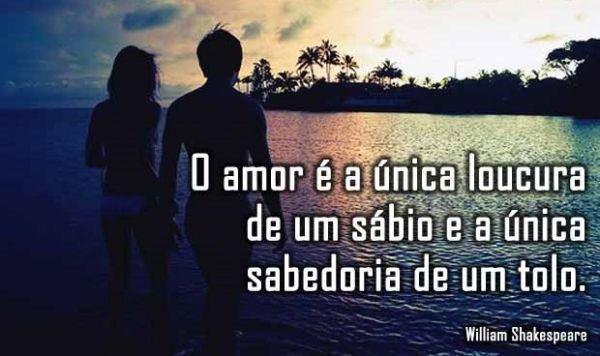 O amor é a única