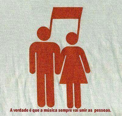 A música sempre vai unir