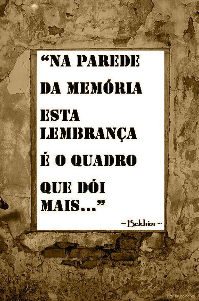 Na parede da memória