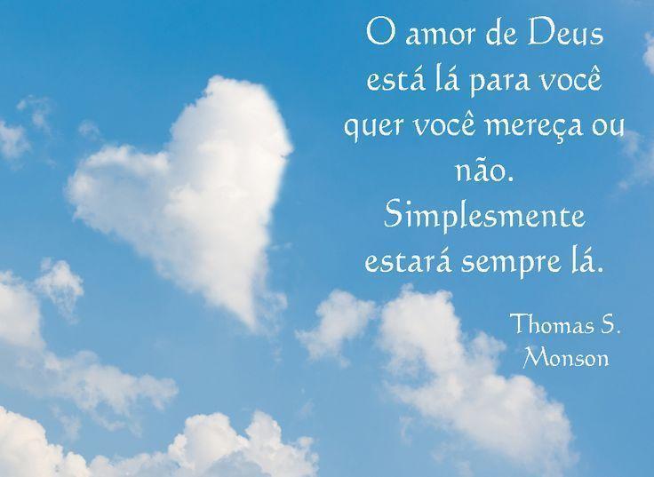 O Amor De Deus Está