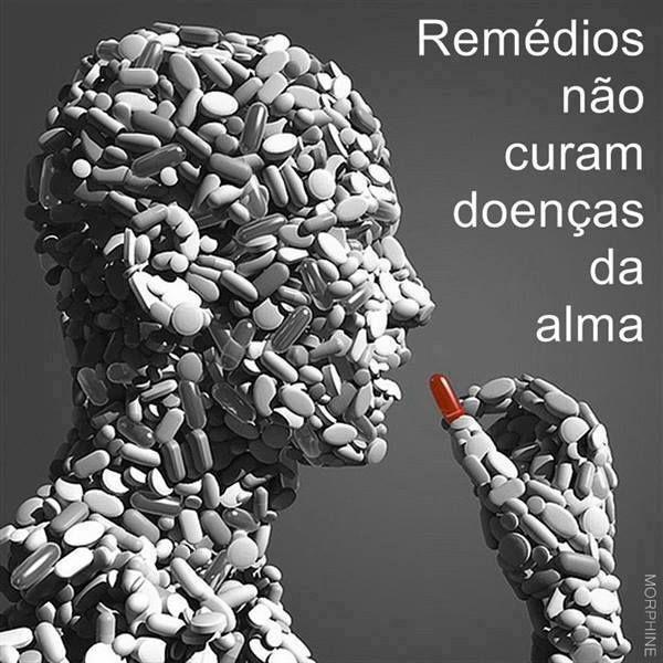 Remédios não curam
