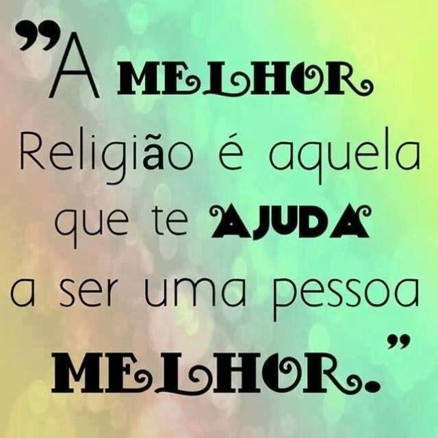 Well-known A melhor religião - Frase para Facebook QL54