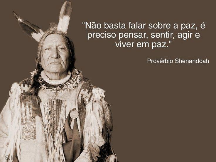 Não basta falar sobre a paz
