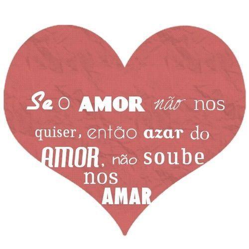Se o amor não nos