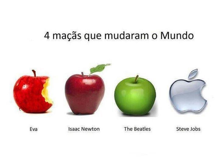 4 maçãs que mudaram
