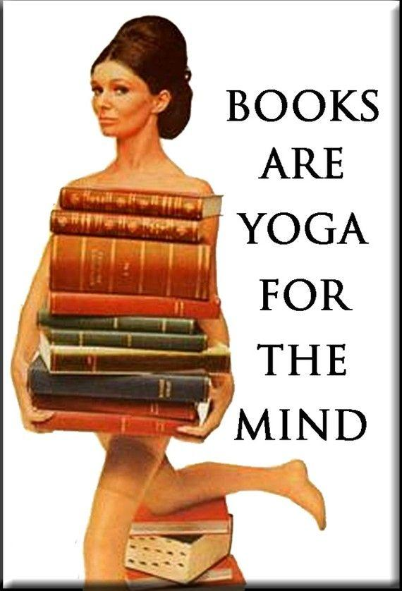 Books are yoga