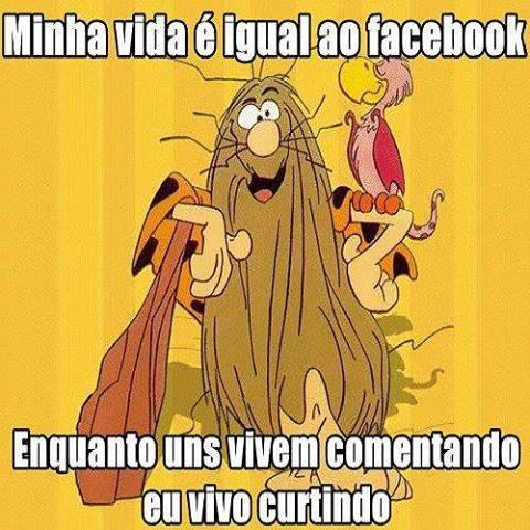 Minha Vida é Igual Frase Para Facebook