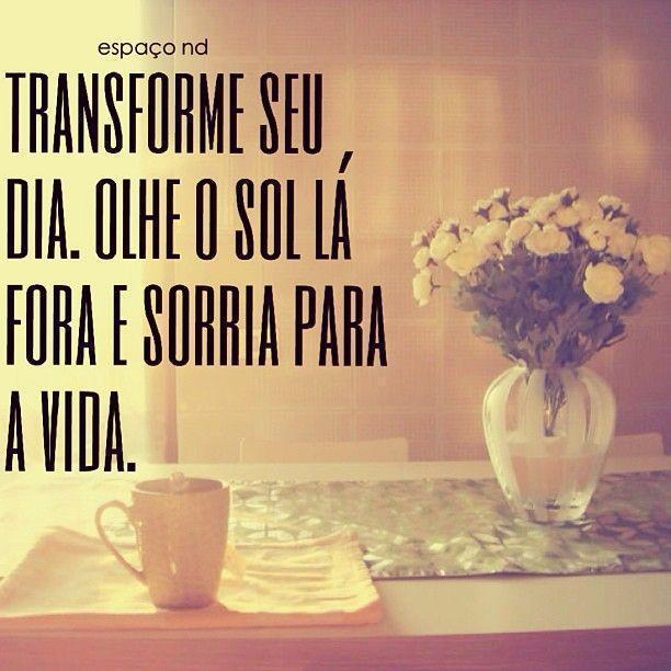 Transforme seu dia