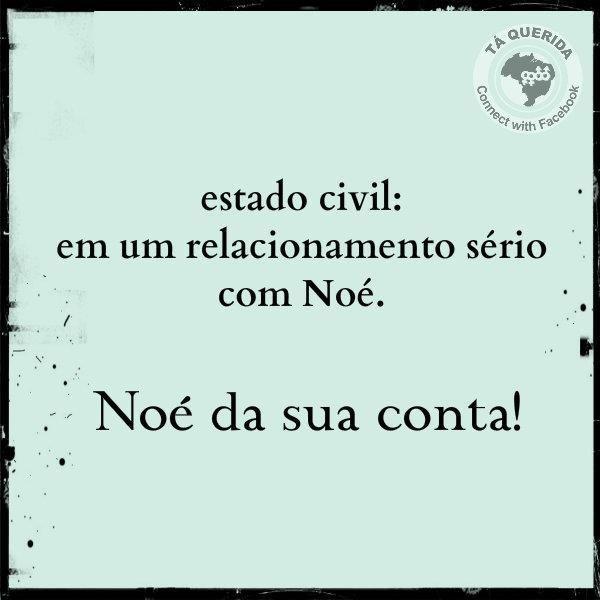 Noé Da Sua Conta Frase Para Facebook