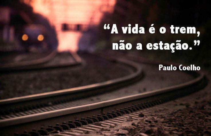 A vida é o trem