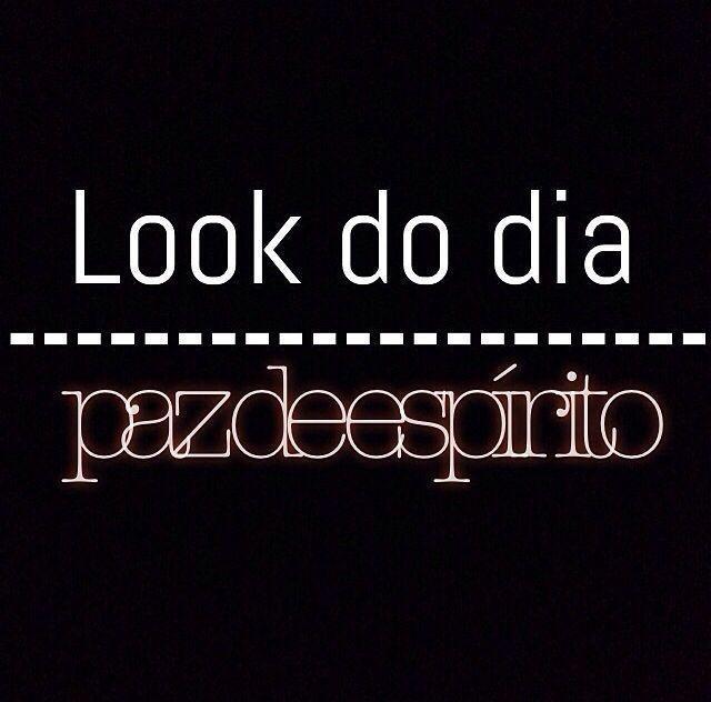 Look Do Dia Paz Frase Para Facebook