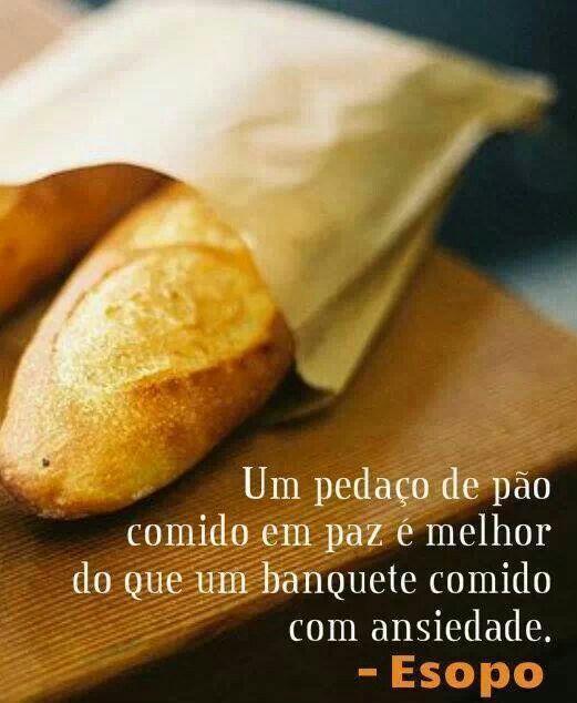 Um pedaço de pão