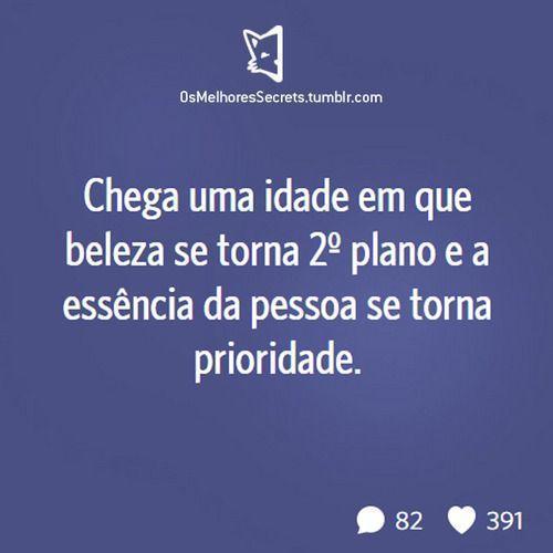 Populares Essência - Frase para Facebook WN26