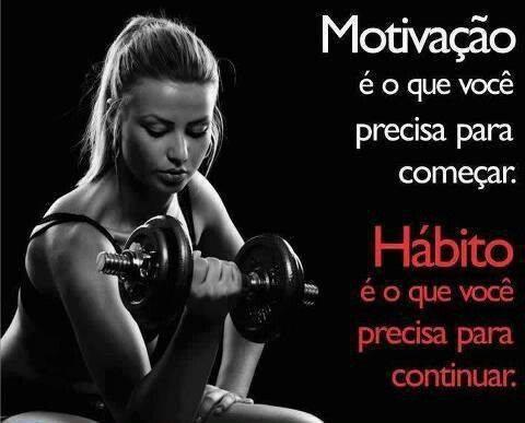 Motivação é o que você precis