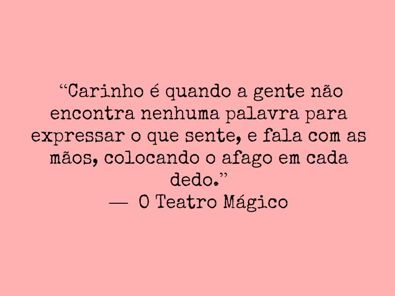 Frases De Amor O Teatro Magico Helowink