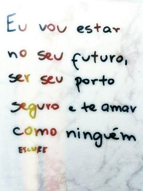 Eu vou estar no seu futuro