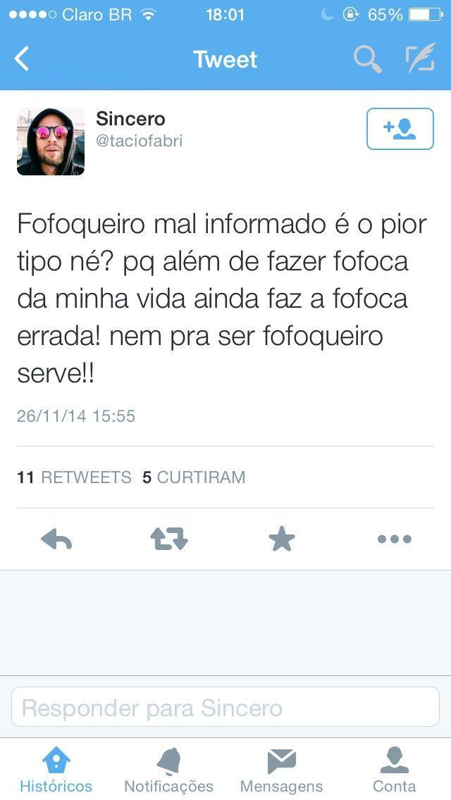 Fofoqueiro Mal Informado Frase Para Facebook
