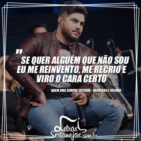 Tag Frases De Amor Musicas Henrique E Juliano