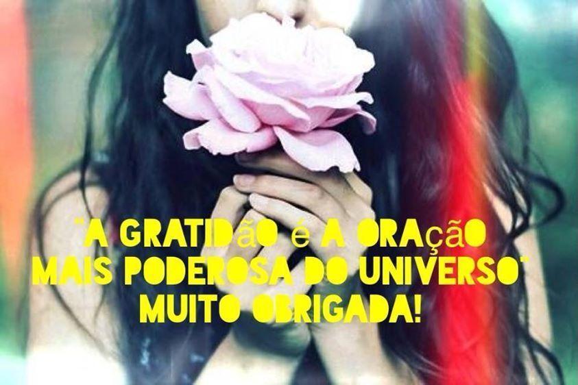 A gratidão é a oração