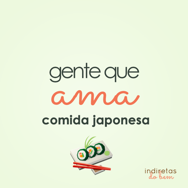 Comida Japonesa Frase Para Facebook