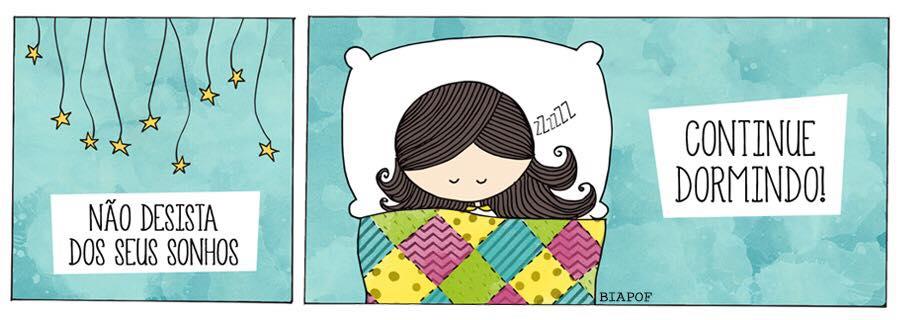 Continue Dormindo Frase Para Facebook