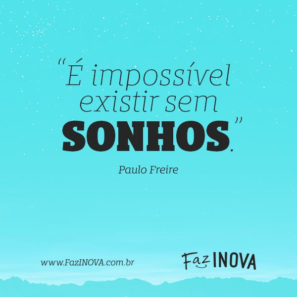 Conhecido É impossível existir - Frase para Facebook WQ89
