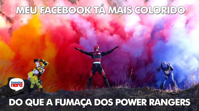 Meu Facebook tá mais colorido