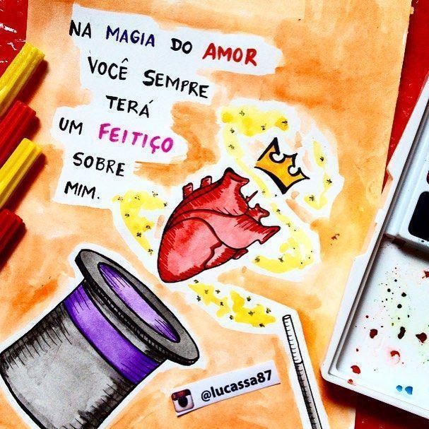 Na magia do amor