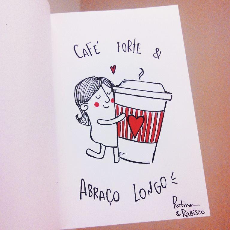 Café Forte Frase Para Facebook