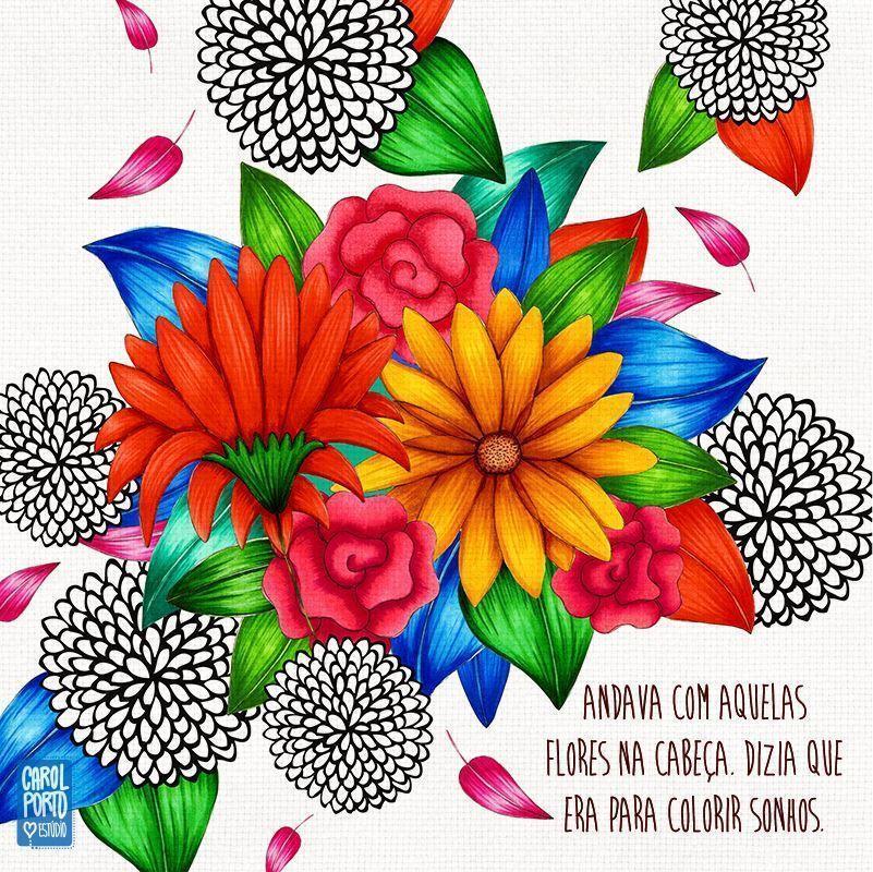 Para colorir sonhos