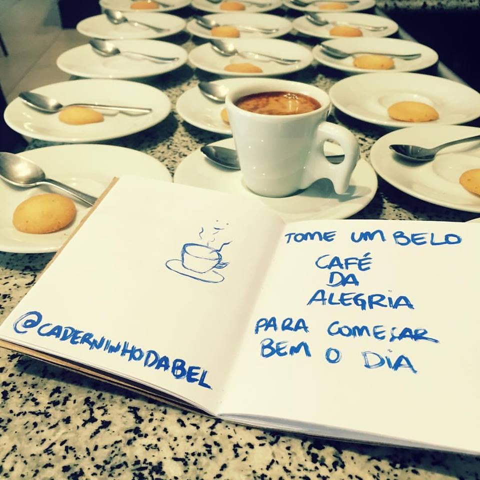 Tome um belo café
