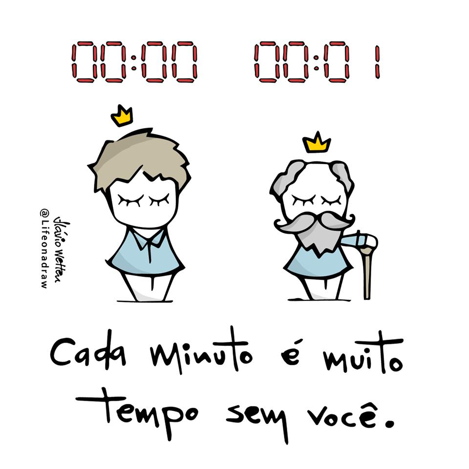 Cada minuto é muito tempo