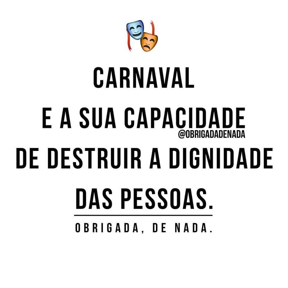 Carnaval e a sua capacidade