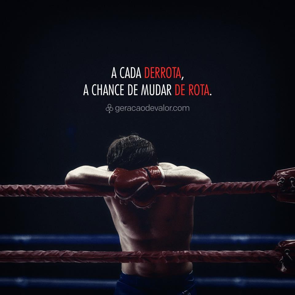 A cada derrota
