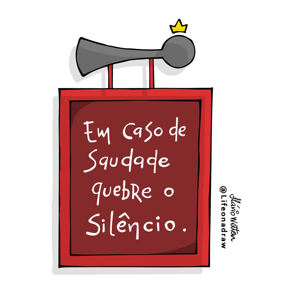 Quebre o silêncio