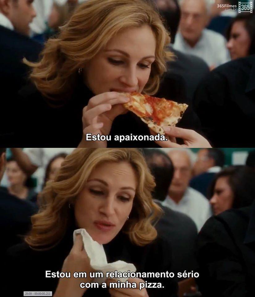 Com a minha pizza