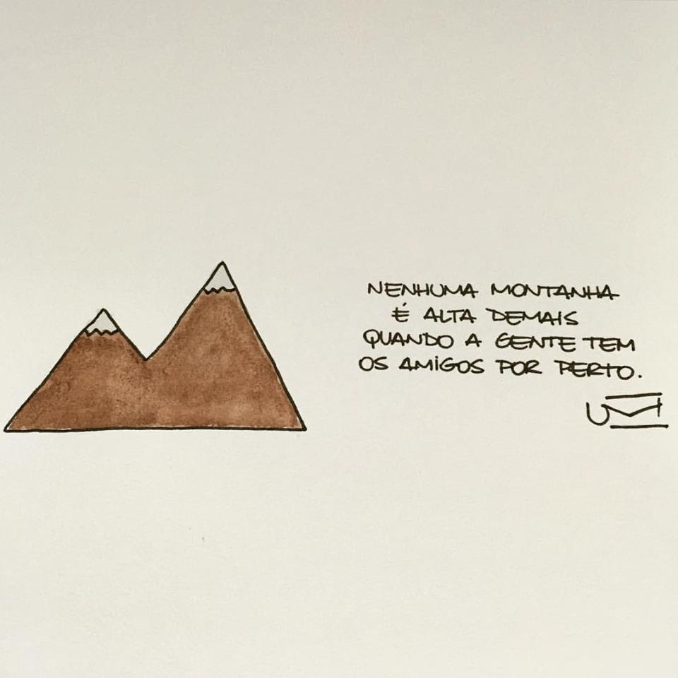 Nenhuma montanha é alta demais