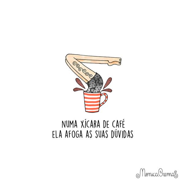 Super Numa xícara de café - Frase para Facebook YU75