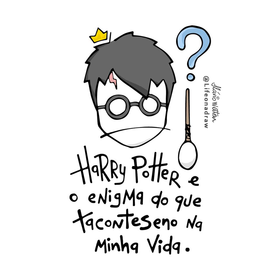 Harry Potter Frase Para Facebook