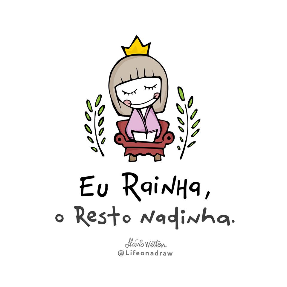 Eu rainha
