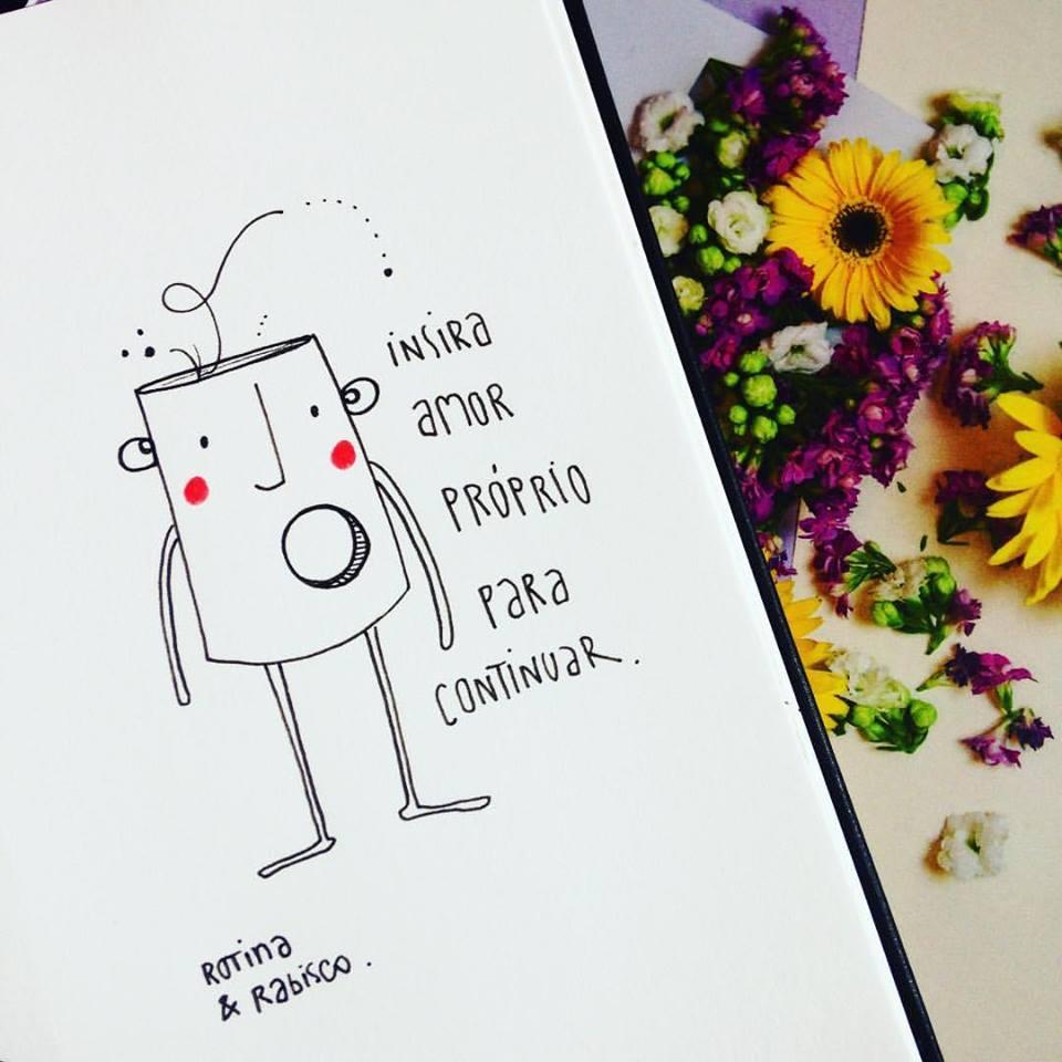 Insira Amor Próprio Frase Para Facebook